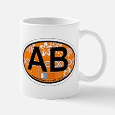 Atlantic Beach NC - Oval Design Mug