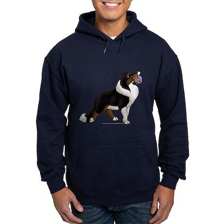 Collie Pup Hoodie (dark)