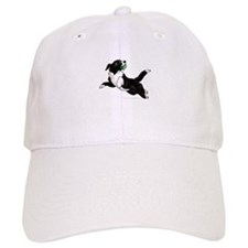 Border Collie Pup Baseball Cap