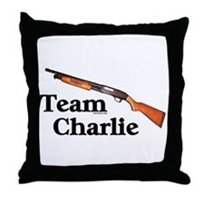 Team Charlie Throw Pillow
