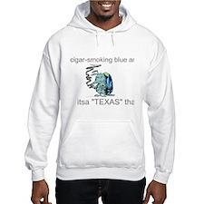 blue armadillo Hoodie