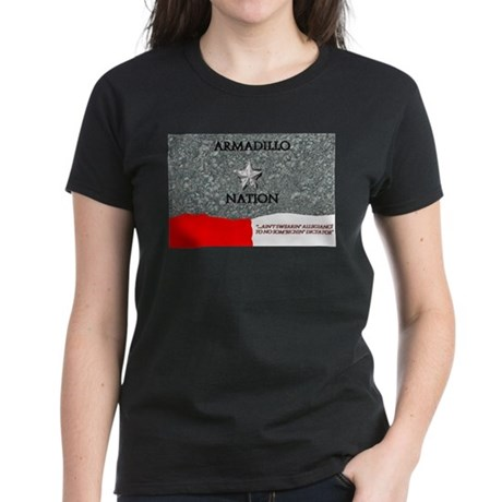 armadillo nation Women's Dark T-Shirt