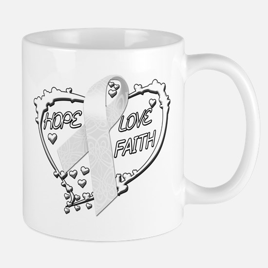 Hope Love Faith Mug
