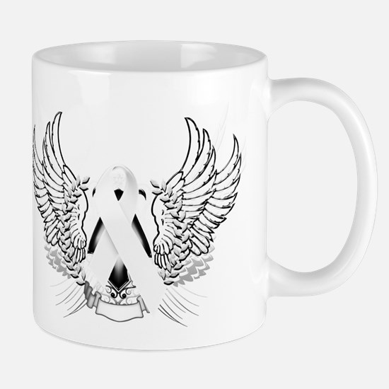 Awareness Tribal White Mug