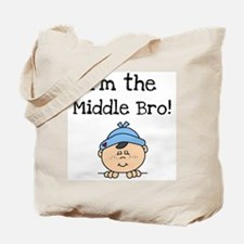 I'm the Middle Bro Tote Bag