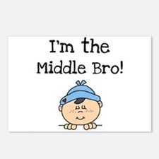 I'm the Middle Bro Postcards (Package of 8)