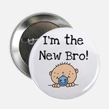 "I'm the New Bro 2.25"" Button"