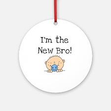 I'm the New Bro Ornament (Round)