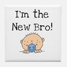I'm the New Bro Tile Coaster