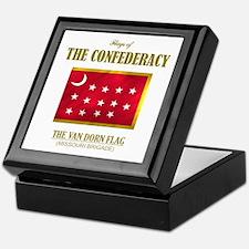 Van Dorn Flag Keepsake Box