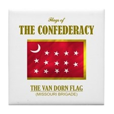 Van Dorn Flag Tile Coaster