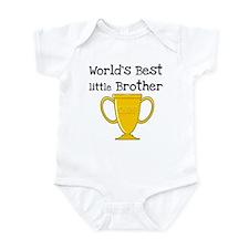 World's Best Little Brother Infant Bodysuit