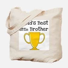 World's Best Little Brother Tote Bag