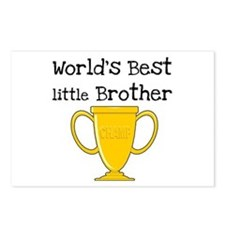 World's Best Little Brother Postcards (Package of