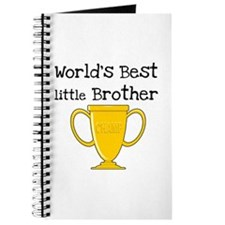 World's Best Little Brother Journal
