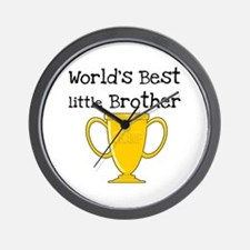 World's Best Little Brother Wall Clock