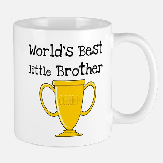 World's Best Little Brother Mug