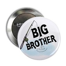 """Fishing Big Brother 2.25"""" Button (10 pack)"""