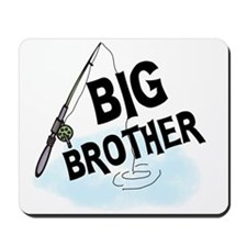 Fishing Big Brother Mousepad