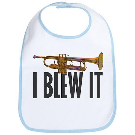 I Blew It Trumpet Bib