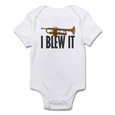 I Blew It Trumpet Infant Bodysuit