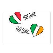 Half Garlic/Half Gaelic Postcards (Package of 8)