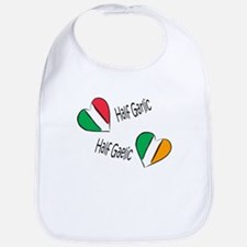 Half Garlic/Half Gaelic Bib