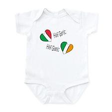 Half Garlic/Half Gaelic Infant Bodysuit