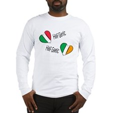 Half Garlic/Half Gaelic Long Sleeve T-Shirt