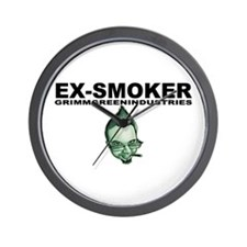 Ex-Smoker Wall Clock