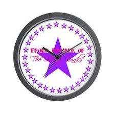 Purple Wall Clock