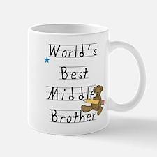 Best Middle Brother Mug