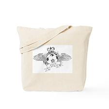 Vintage Football Tote Bag