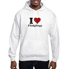 I heart fledglings Hoodie