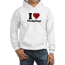 I heart fledglings Jumper Hoody