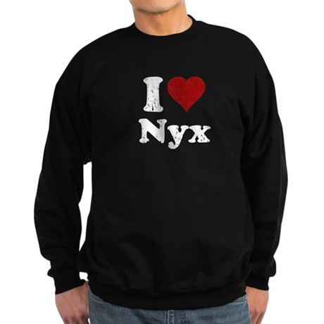 I heart Nyx Sweatshirt (dark)