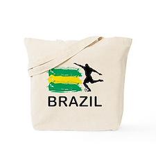 Brazil Football Tote Bag
