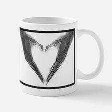 X-ray Heart Mugs