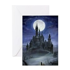 Gothic Castle Greeting Card