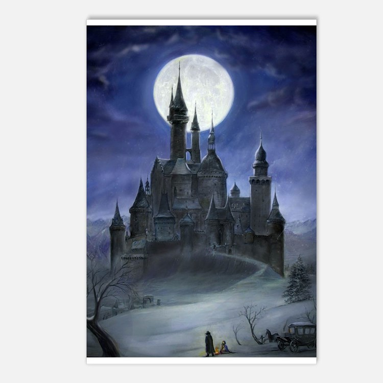 Gothic Castle Postcards (Package of 8)
