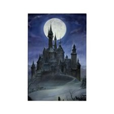 Gothic Castle Rectangle Magnet