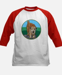 UNHAPPY CAMPER Kids Baseball Jersey