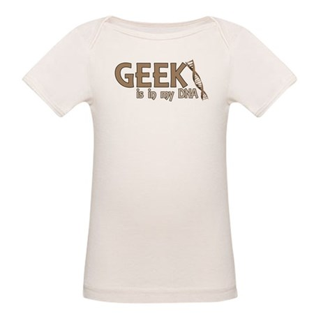 Geek is in my DNA Organic Baby T-Shirt