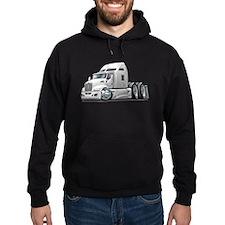 Kenworth 660 White Truck Hoodie