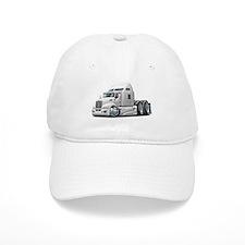 Kenworth 660 White Truck Baseball Cap