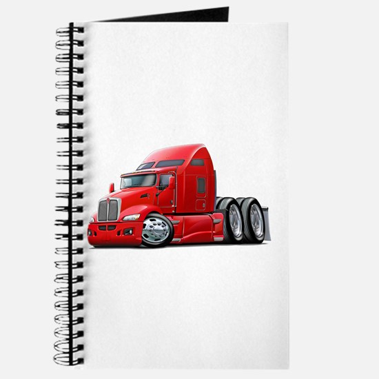 Kenworth 660 Red Truck Journal