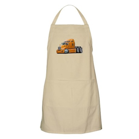 Kenworth 660 Orange Truck Apron