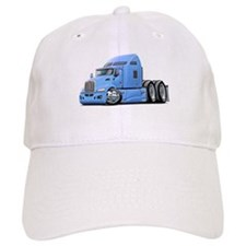 Kenworth 660 Lt Blue Truck Baseball Cap
