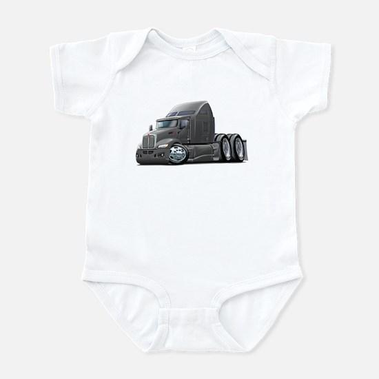 Kenworth 660 Grey Truck Infant Bodysuit