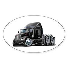 Kenworth 660 Black Truck Bumper Stickers